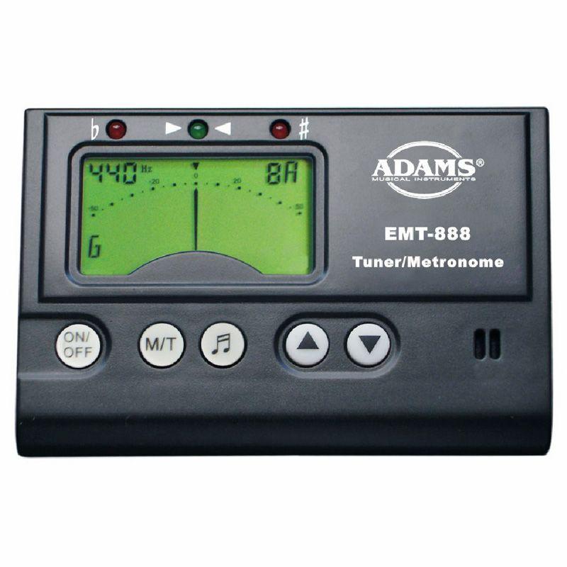 ADAMS EMT888G/B Тюнер-метроном с дисплеем