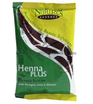Лечебная краска для волос Натуральная хна / Nature's Essence Henna Plus Henna Leaves