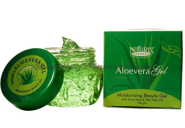 Увлажняющий гель для лица и тела Алое Вера / Nature's Essence Aloe Vera Gel