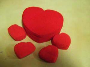 Сердечки поролоновые