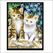 """Картина по номерам """"Чудесные котята"""" 40х50"""