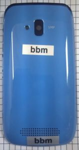 Корпус Nokia 610 Lumia (blue)