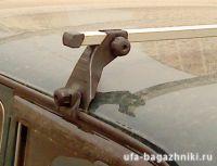 Багажник на крышу на ВАЗ 2121 - Нива (Атлант, Россия) - алюминиевые дуги