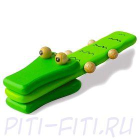 """I'm toy. Игрушка деревянная """"Крокодильчик"""""""