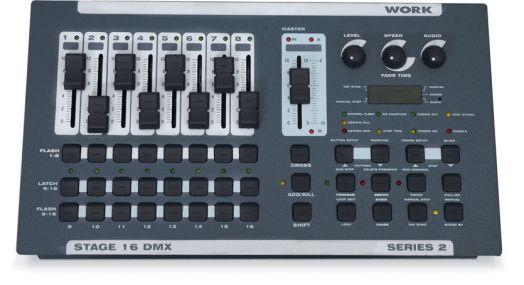 WORK STAGE-16 DMX Пульт управления светом