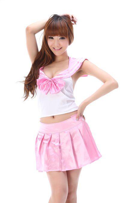 Японская школьная форма (летняя/розовая)