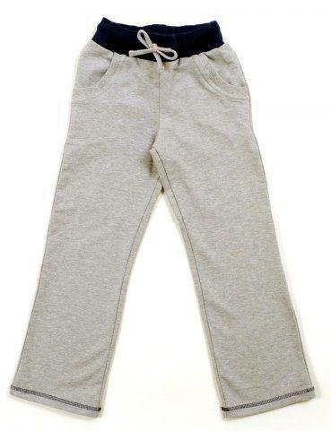 Спортивные серые штаны для девочки