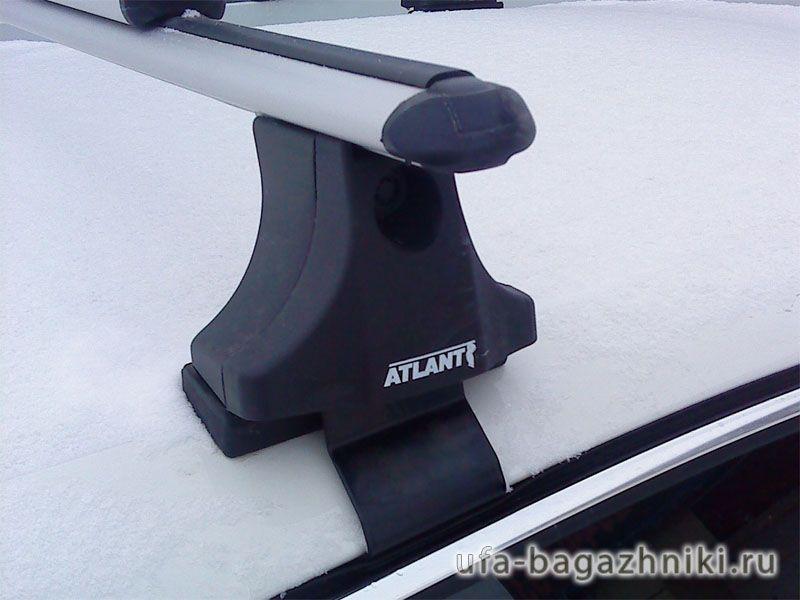 Багажник на крышу Skoda Superb B6 08-15, Атлант, аэродинамические дуги