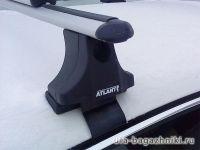 Багажник на крышу Skoda Superb, Атлант, аэродинамические дуги