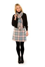 шарф 100% шерсть , расцветка Диана, принцесса Уэльская (Роза)
