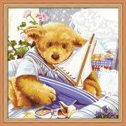 "Раскраска по номерам ""Мишки Тедди. Парусник"" 40х40"