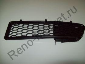 Решетка бампера левая аналог 6001546783