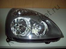 Фара передняя правая Clio II, Symbol (серая) K-551-1138-2 аналог 7701057658