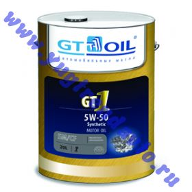 Масло моторное GT OIL 1 SM/CF 5W50 20л. син.