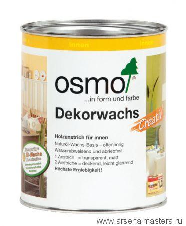 Цветное масло интенсив Osmo Dekorwachs Intensive Tone 3169 Чёрное 0,75 л