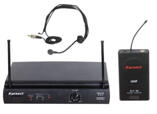 KARSECT KRU301/KLT-8U/HT-1A Радиосистема 1 головной микрофон