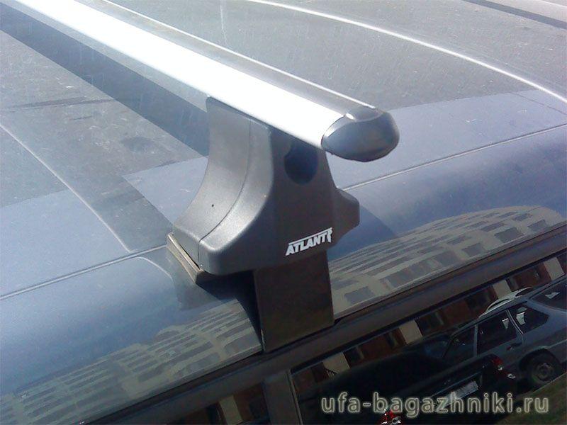 Багажник на крышу Skoda Fabia MK2 хэтчбек, Атлант, аэродинамические дуги