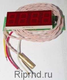 Термометр-вольтметр-тахометр ТВТ-0,56/4