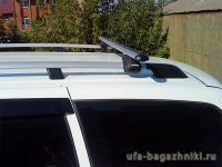 Багажник (поперечины) на рейлинги на Ладу Приору, Атлант, аэродинамические дуги