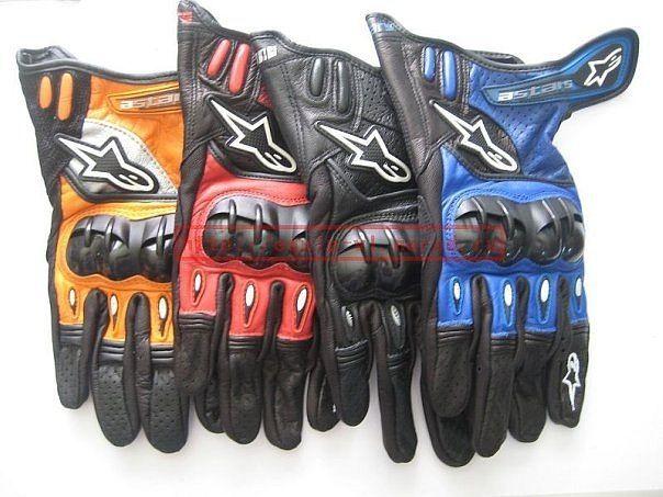 Мото перчатки Alpinestars Octane S-Moto (с перфорацией)