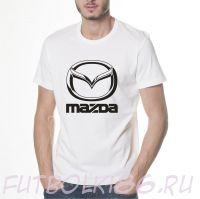 Футболка логотип Мазда
