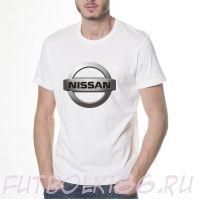 Футболка логотип Ниссан