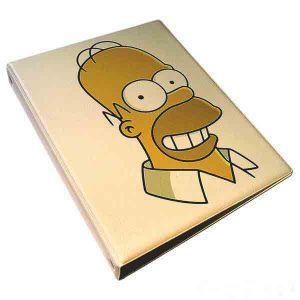 """Обложка для тетрадных блоков """"Симпсон """""""