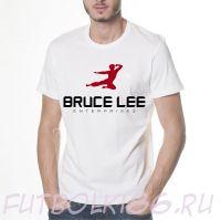 Футболка логотип Брюс Ли
