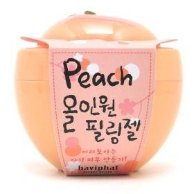 BAVIPHAT PEACH ALL IN ONE PEELING GEL 100ml - пилинг-гель с экстрактом персика и витамином С