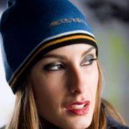 Вязанная шапка Stiga (голубая)