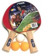 Набор Stiga  Fighter, 2 ракетки + 3 мяча