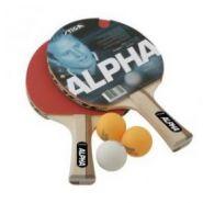 Набор Stiga Alpha, 2 ракетки+3 мяча