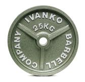OM-2,5KG Шлифованный диск IVANKO покрытый молотковой эмалью