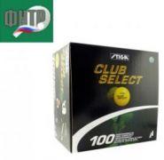 Мячи Stiga Club Select белые (100 шт.)