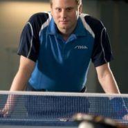 Теннисная рубашка Stiga Creator Хлопок (голубо-сине-белый)