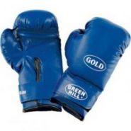 Перчатки боксерские Тренировочные Green Hill Gold 8,10,12 унций