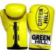 Перчатки боксерские Боевые Green Hill Force 8,10,12 унций