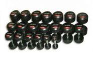 Обрезиненный   гантельный ряд  JORDAN  от 2.5 до 60кг (24 пары) FDS-10 2,5/60kg