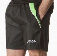 Теннисные шорты Stiga Supreme (черный/зеленый)
