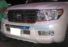 Защита переднего бампера Тип - 1 для Toyota Land Cruiser 200 2008