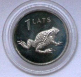 Лягушка 1 лат Латвия 2010