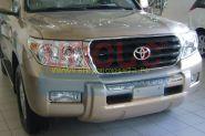 Защита переднего бампера Тип - 2 для Toyota Land Cruiser 200 2008