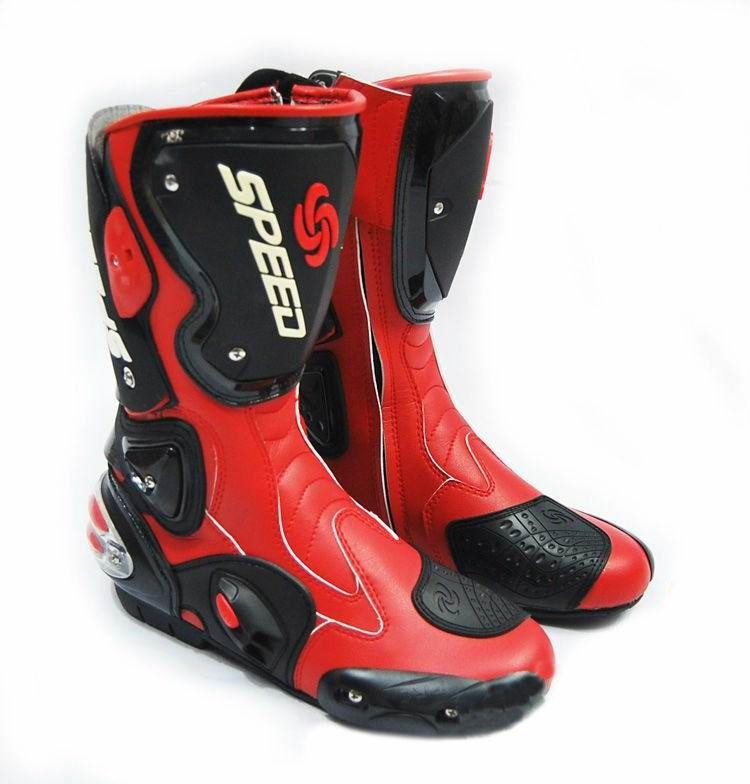 Мотоботы Pro-Biker Speed (красный)