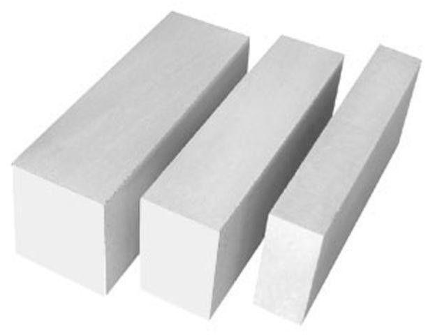 Газосиликатный блок (пеноблок) D-500