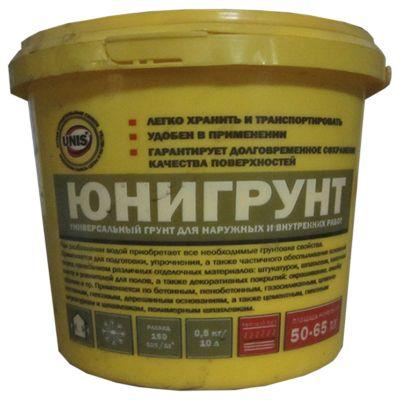 ЮНИГРУНТ - Универсальный грунт для наружных и внутренних работ (0,5 кг)