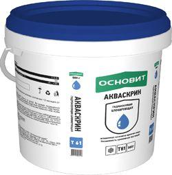 Основит Т-61 АКВАСКРИН для остановки протечек 0,5 кг