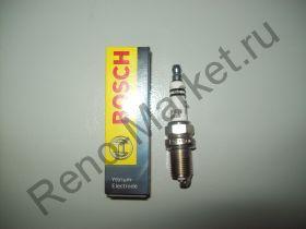 Свеча зажигания BOSCH (FR7DC+)0 242 235 666 аналог 7700500155