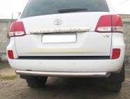 Защита заднего бампера 76 мм дуга (LCZ-000202) для Toyota Land Cruiser 200 2008