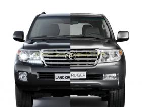 Комплект рестайлинга Toyota Land Cruiser 200 2008 в Land Cruiser 2012-