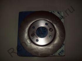 Диск тормозной передний (Logan 1.6 16V) ETG 011642121140 аналог 7701207795
